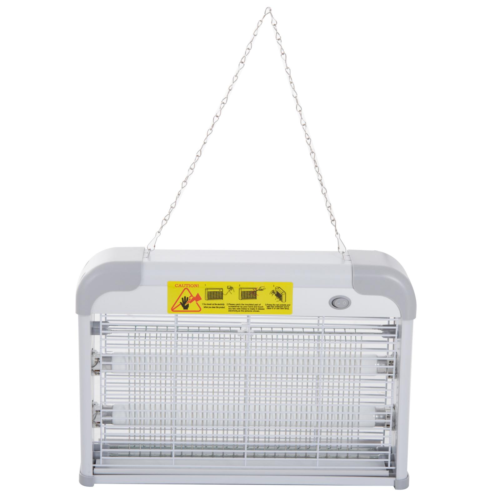 Outsunny Lampa Electrica Antitantari 20W, 37.5x8.5x26.5cm imagine aosom.ro
