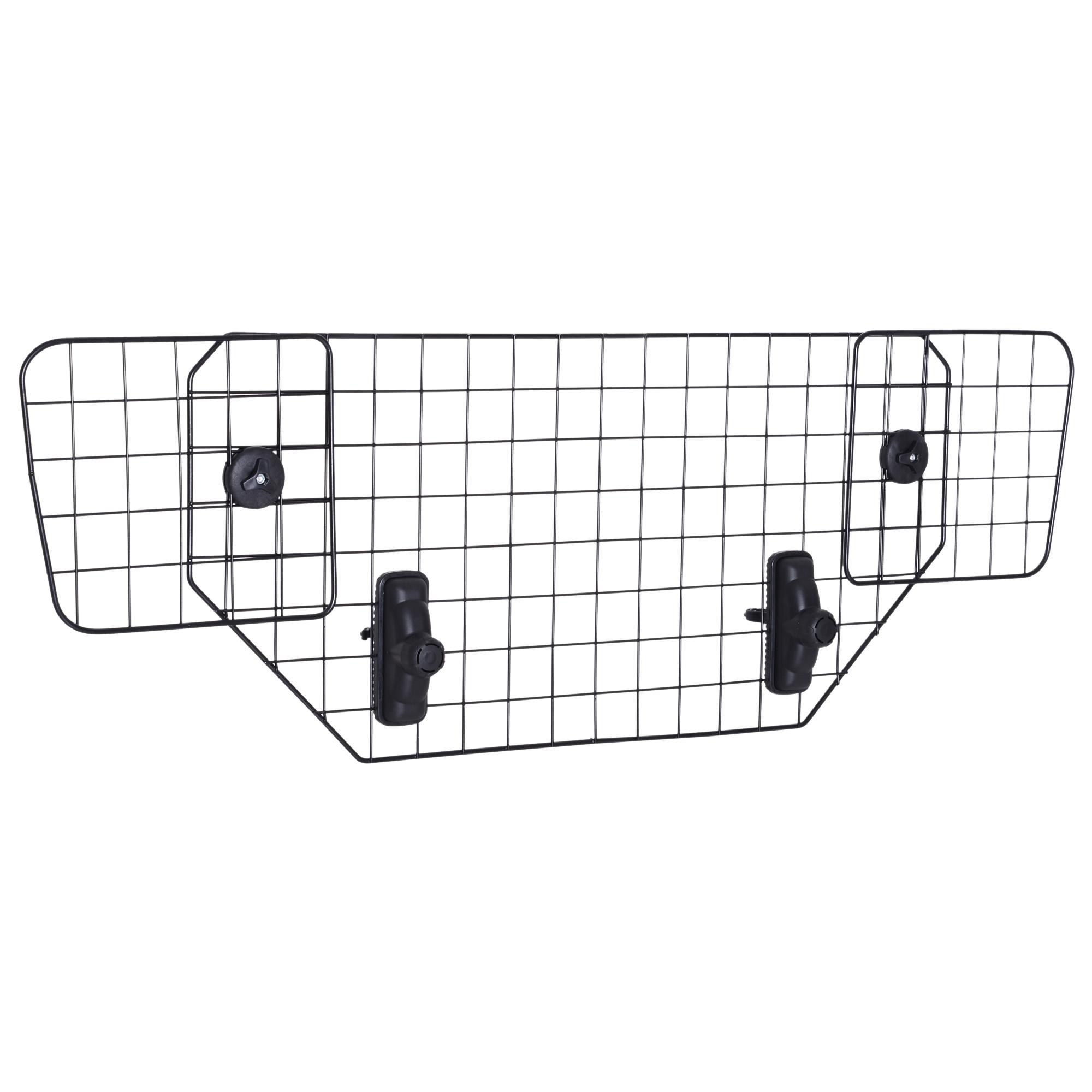 PawHut Bariera Separator de Protectie Masina pentru Caini Reglabila 89-122x41cm imagine aosom.ro