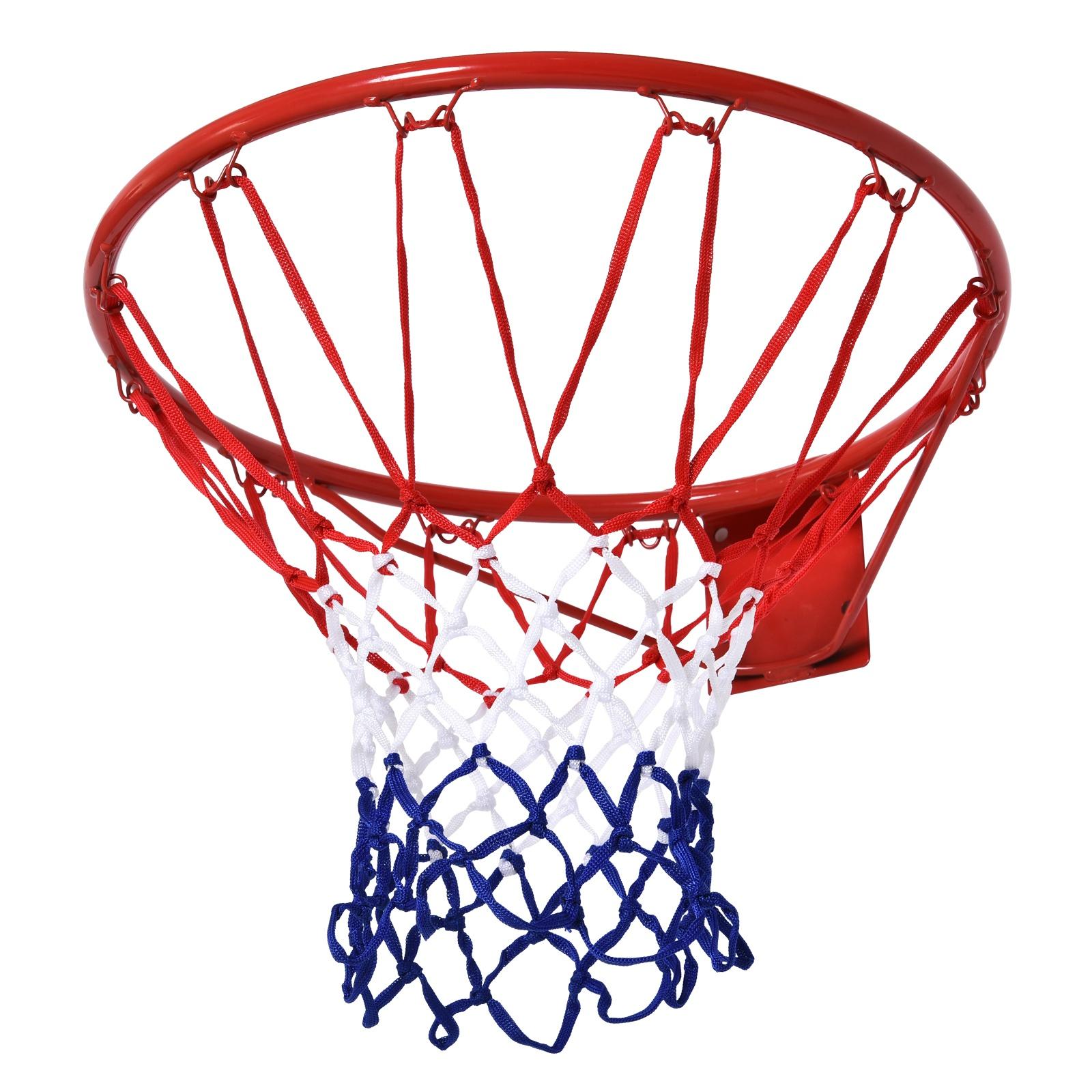 HOMCOM Plasa Cos de Basket cerc din metal plasa din nylon Φ46cm imagine aosom.ro