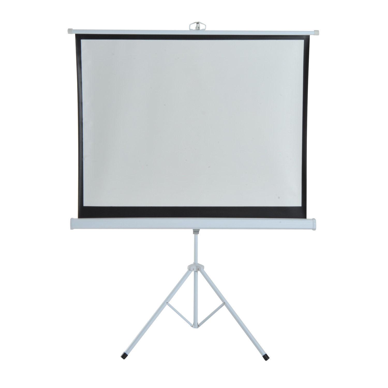 HomCom Ecran de Proiecție 120 inch Format 4:3 cu Trepied imagine aosom.ro